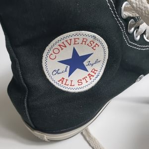 Converse Shoes - Converse Black All Star Hightop Sneakers Unisex